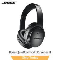 BOSE QuietComfort 35 II Wireless Headphones Black, Noise-Cancelling