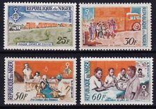 Niger transportation & medication MNH complete set
