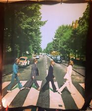 "The Beatles-Abbey Road - Blanket / Tapestry 2010 Apple Corp. 50"" x 60"" (approx)"