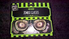 Prop Glasses Halloween Horror Gore Specs Fancy Dress party Free p&p !!