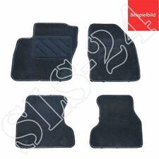 Passform Autoteppich Fußmatten Fußmatte 4-teilig Opel Astra G 1998-2005 schwarz