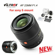 EU SHIP!✮ NEW Viltrox AF 23mm f/1.4 STM Auto-Focus Lens for SONY E-Mount (APS-C)