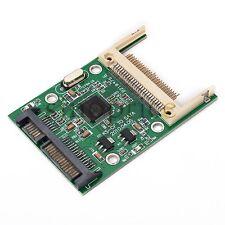 CF Compact Flash I II III Card to SATA HDD Hard Disk Drive Adapter Converter