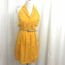 NWT Jessica Simpson Radiant Yellow Eyelet Dress 8