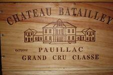 1985 Chateau Batailley, 1 6er Kiste-OWC -  5éme Grand Cru Classé 1855 – Pauillac