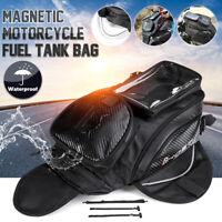 Magnet Motorrad Tankrucksack Werkzeugtasche Satteltasche Handy Tasche Schwarz