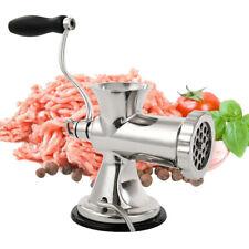 Meat Grinder Mincer Stuffer Manual Hand Sausage Filler Multifunctional Kitchen