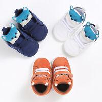 Toddler Baby Girl Boy Fox Crib Shoes Anti-slip Sneaker Soft Sole Pram Prewalker