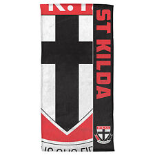 St Kilda Saints Afl Bath Gym Beach Towel Fathers Mothers Day Christmas Gift