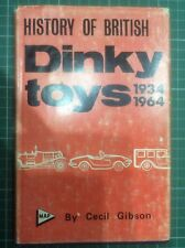 DINKY DIE-CAST MODEL VEHICLES 1934-64 COMPANY & PRODUCT HISTORY BOOK *HARDBACK*