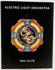 More details for elo fan club lot folder photo membership card etc 1981