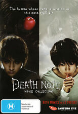 Death Note:  Movie Collection (Death Note / Death Note: Th  - DVD - NEW Region 4