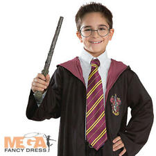 Harry Potter Tie Fancy Dress Book Week Kids Childrens Costume Outfit Accessory