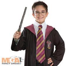 Harry Potter tie Fancy Dress Libro Semana Niños Childrens Traje de Disfraz Accesorio