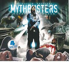 2PAC MYTHBUSTERS 3CD + DVD MUSIC VIDEO 4 DISC SET MAKAVELI TUPAC