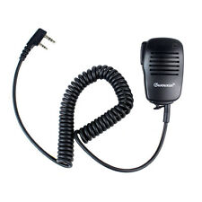 Hot PTT Handheld Microphone Mic Speaker for Kenwood WOUXUN PUXING HYT BF Radios