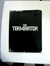 THE TERMINATOR, SCHWARZENEGGAR, CAMERON, RARE PRESSKIT, 1984