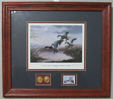 Les C. Kouba's National Waterfowl Conservation Stamp Print Signed Collector's Ed