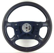 Véritable Porsche Bleu Volant Cuir 993347804. 996 986 Boxster. 16C