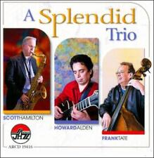 FRANK TATE/HOWARD ALDEN/SCOTT HAMILTON (SAXOPHONE) - A SPLENDID TRIO * USED - VE