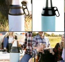 TAL Trek 64 oz Double Wall Insulated Growler and Thermos Slate Water Bottle
