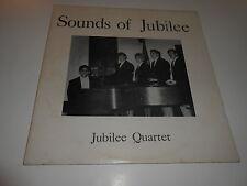 EX+:THE JUBILEE QUARTET -SOUNDS OFJUBILEE - SIGNED ,LOVE YA GREG ,lp
