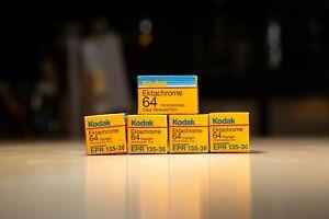 Kodak Ektachrome 64 iso 35mm 5 rolls slide film 36 exposures Exp. 1991