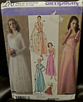 £20+ NEW UNCUT SIMPLICITY 4270 SEWING PATTERN 1930s WEDDING BALL SIZE 16 to 24