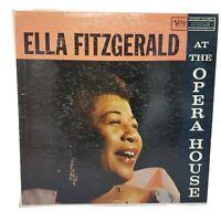ELLA FITZGERALD At The Opera House VERVE LP VG+/VG+ Mono MG V 8264