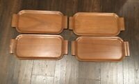 Set Of 4 Vintage Toastmaster Hospitality Set Genuine Plywood McGraw Electric