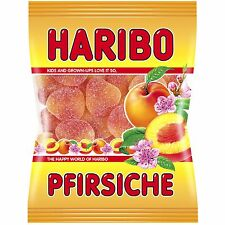 Haribo Pfirsiche / PEACH gummies -200g -Made in Germany- FREE SHIPPING
