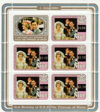 (13407) Niue MNH Princess Diana 21st Birthday minisheet 1982 u/m mint