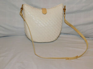 RODO BEIGE STRAW PURSE