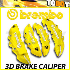 4pcs Yellow Disc Brake Caliper Covers Kit For Mercedes-Benz AMG C200 C300 CLS SL