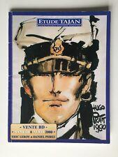 HUGO PRATT CORTO MALTESE CATALOGUE TAJAN VENTES AUX ENCHERES BD / 2000 / HERGE