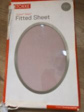 Stokke Sleepi  Mini Rose Pink Fitted Sheet Genuine Damaged Packaging New