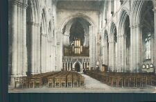 Ripon cathedral the nave wrench 1906