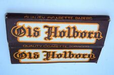 VINTAGE PACK OF CIGARETTE PAPERS: OLD HOLBORN by Richard Lloyd & Sons, London