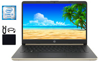 "2019 Newest HP 14"" Intel Core i3-7100u 2.40GHz, 8GB, 128GB SSD Win 10,Ash Silver"