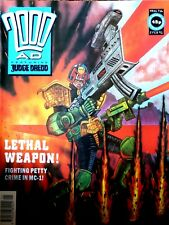 2000AD Classic Comic Book Number 716 2nd February 1991 Lethal Weapon! Edition