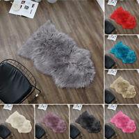 Faux Fur Sheepskin Area Rug Fluffy Baby Carpet Living Room Bedroom Floor Mat