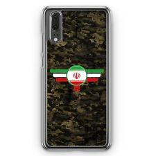 Huawei p20 hard cover funda irán camuflaje motivo Design militar military celular