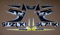 GSX-R 600 SRAD 1999 complete decals stickers graphics kit set aufkleber adesivi