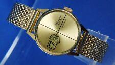 Vintage NOS Lucerne Mechanical Jump Hour Digital Watch 1970 Switzerland