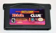 RISK/BATTLESHIP/CLUE NINTENDO GAMEBOY ADVANCE SP GBA