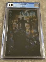Batman Who Laughs #1 Foil Cover Clayton Crain 9.8 CGC Variant Cover DC Joker
