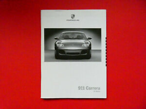 Prospekt / Preisliste mit Daten Porsche 911 (996)  Carrera, 4S, Cabriolet  08/02