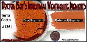 Terra Cotta Weathering Pigment Doctor Ben's Wood Plastic Metal Resin NN4042