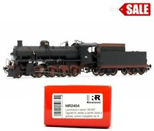 "Rivarossi HR2454 HO 1:87 Gr.740 steam locomotive Caprotti FS ""DCC SOCKET"" NEW"
