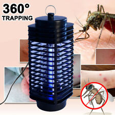 Electric Insect Zapper Mosquito Fly Bug Killer Control Trap Blue Lamp Light